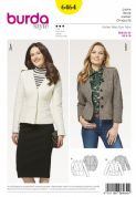 6464 Burda Pattern Jacket